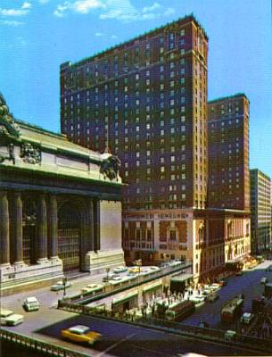 The Old Commodore Hotel On 42nd Street In New York City Just East Of Grand Central