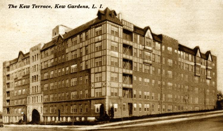 A picture history of kew gardens ny the kew terrace for The terrace apartments
